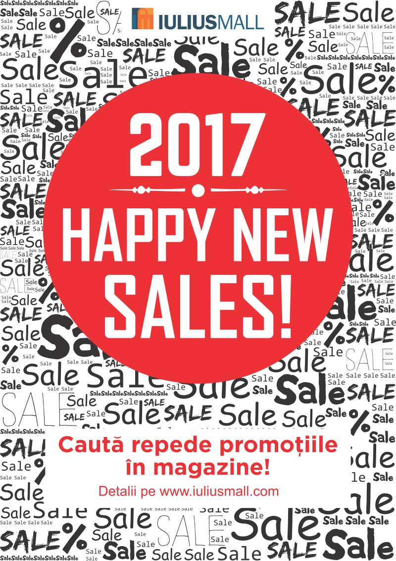 happy new sales