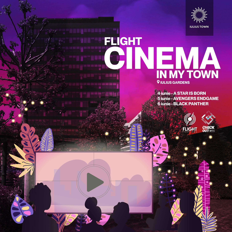 Flight Cinema in My Town Oscar Nights iunie