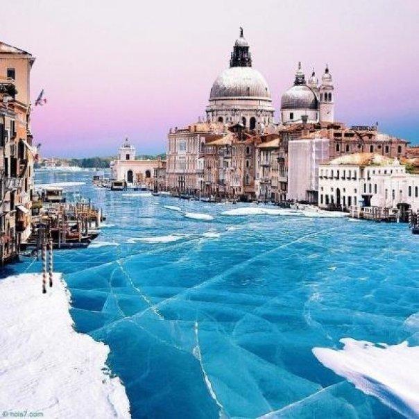 venezia inghetata