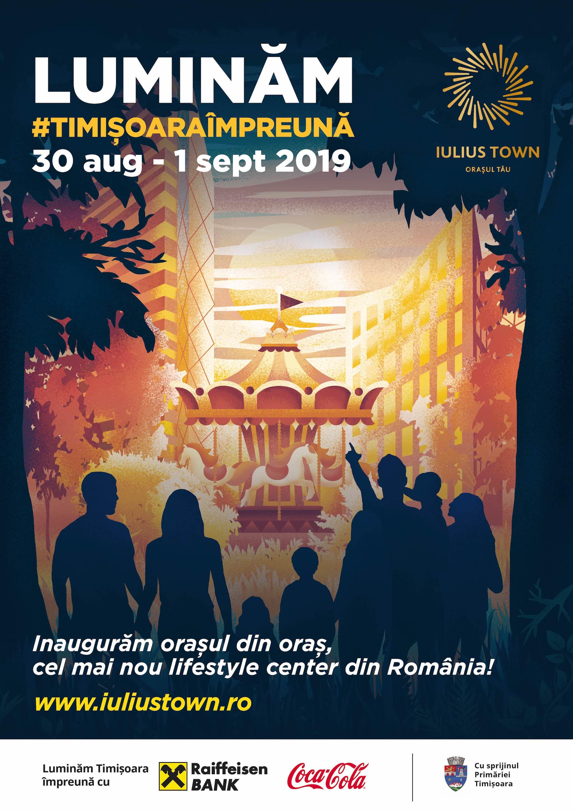 Iulius Town inaugurare