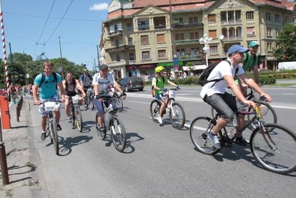 biciclisti in centru