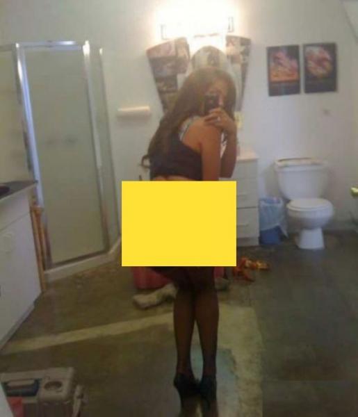 selfie in baie0
